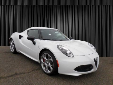 New 2018 Alfa Romeo 4C Coupe Base